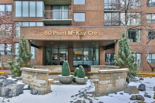 80 Point Mckay Crescent NW #202, Calgary, AB T3B 4W4 (#C4239074) :: Redline Real Estate Group Inc