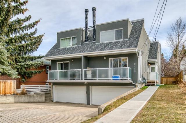 2115 35 Avenue SW A, Calgary, AB T2T 2E4 (#C4239228) :: Canmore & Banff