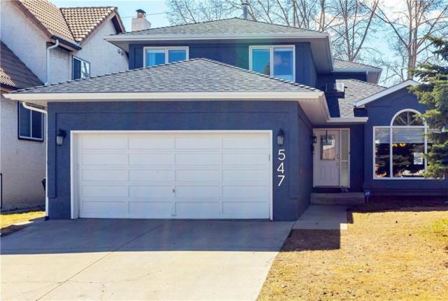 547 Coach Light Bay SW, Calgary, AB T3H 1Y5 (#C4240726) :: Redline Real Estate Group Inc
