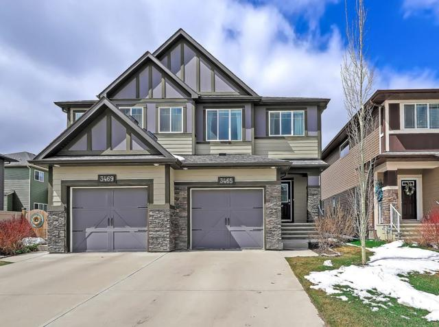 3465 Hillcrest Rise SW, Airdrie, AB T4B 3W2 (#C4241857) :: Redline Real Estate Group Inc