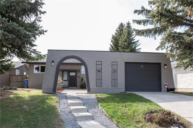 43 Cedar Ridge Place SW, Calgary, AB T2W 1X7 (#C4241937) :: Redline Real Estate Group Inc