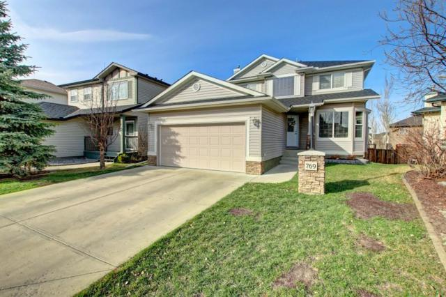 769 Cimarron Close, Okotoks, AB T1S 1X3 (#C4242213) :: Redline Real Estate Group Inc