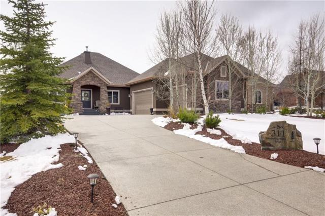 311 Whispering Water Bend, Rural Rocky View County, AB T3Z 3T3 (#C4242663) :: The Cliff Stevenson Group
