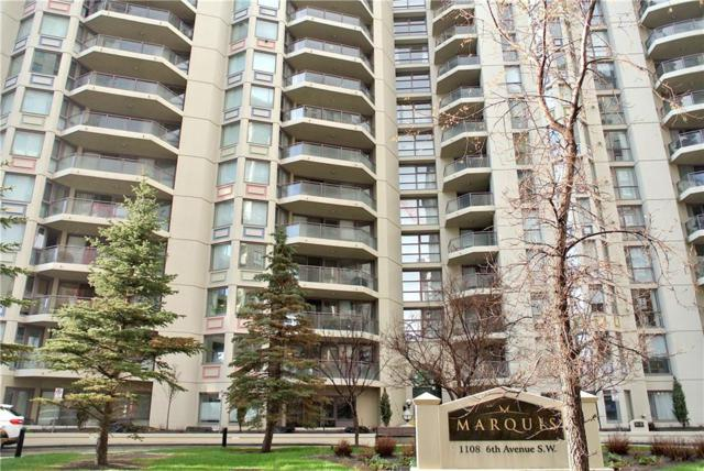 1108 6 Avenue SW #506, Calgary, AB T2P 5K1 (#C4243070) :: Redline Real Estate Group Inc