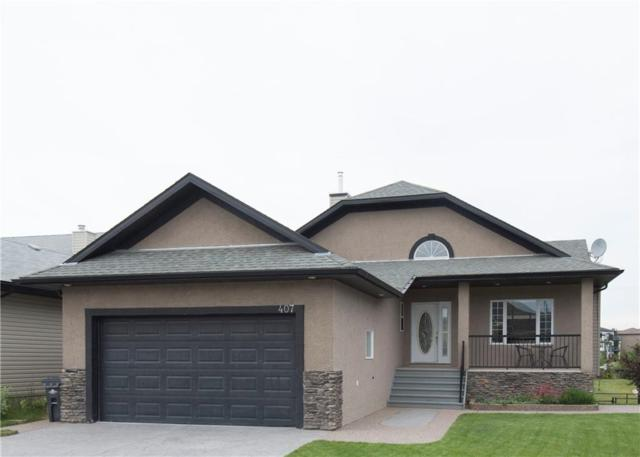 407 High Park Boulevard NW, High River, AB T1V 2C4 (#C4243260) :: The Cliff Stevenson Group