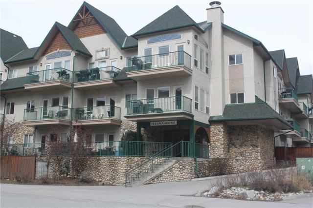 176 Kananaskis Way #313, Canmore, AB T1W 3E4 (#C4243438) :: Redline Real Estate Group Inc