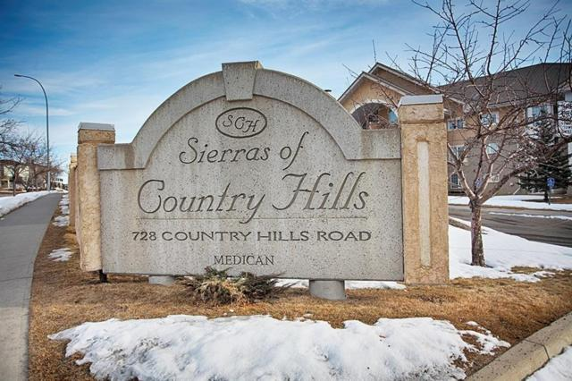 728 Country Hills Road NW #127, Calgary, AB T3K 5K8 (#C4243631) :: Redline Real Estate Group Inc