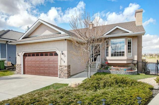 219 Lakeside Greens Court, Chestermere, AB T1X 1C7 (#C4243941) :: Redline Real Estate Group Inc