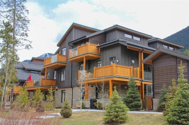 3000B Stewart Creek Drive #202, Canmore, AB T1W 0G5 (#C4243976) :: Canmore & Banff