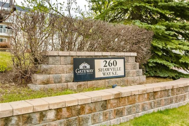 260 Shawville Way SE #206, Calgary, AB T2Y 3Z6 (#C4244024) :: The Cliff Stevenson Group