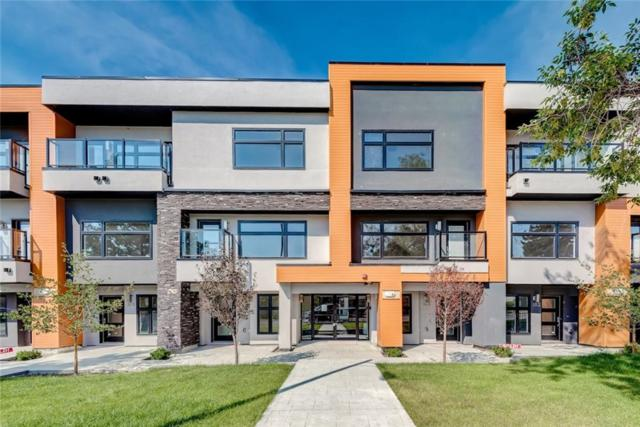 1632 20 Avenue NW #107, Calgary, AB T2M 1G8 (#C4244065) :: The Cliff Stevenson Group
