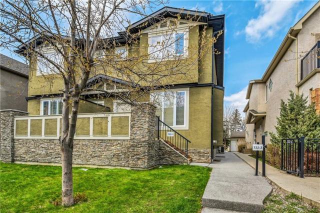 722 56 Avenue SW #2, Calgary, AB T2V 0H1 (#C4244122) :: The Cliff Stevenson Group