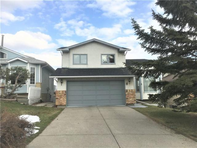 8 Hawkcliff Mews NW, Calgary, AB T3G 2S4 (#C4244190) :: Redline Real Estate Group Inc