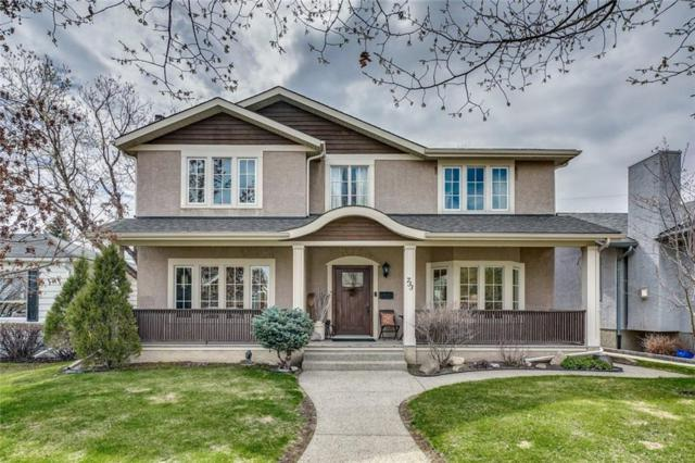 733 Alexander Crescent NW, Calgary, AB T2M 4B8 (#C4244218) :: The Cliff Stevenson Group