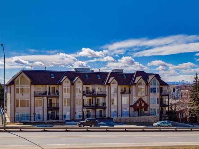 141 Mountain Street #206, Cochrane, AB T4C 1Z5 (#C4244358) :: The Cliff Stevenson Group