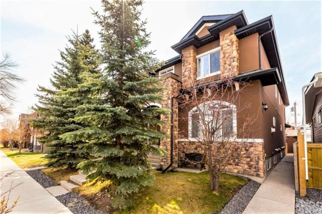 439 20 Avenue NE #1, Calgary, AB T2E 1R3 (#C4244492) :: Redline Real Estate Group Inc