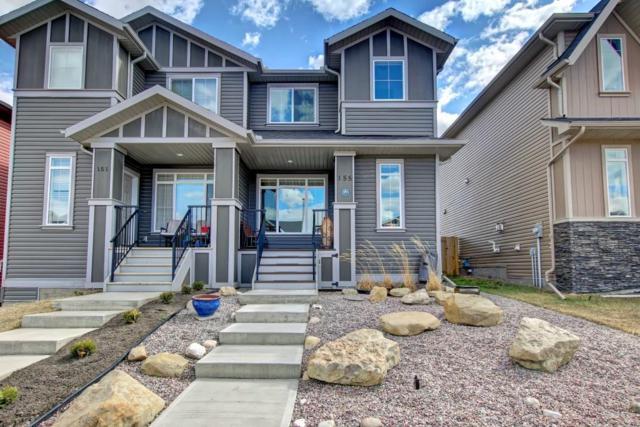 155 Fireside Drive, Cochrane, AB T4C 0X4 (#C4244644) :: Redline Real Estate Group Inc