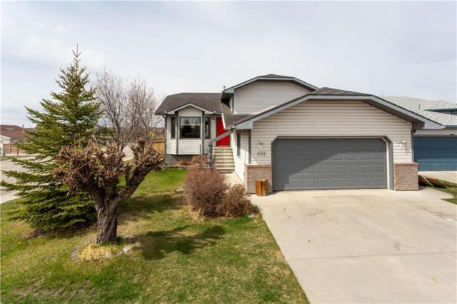 102 West Terrace Bay, Cochrane, AB T4C 1R7 (#C4244794) :: The Cliff Stevenson Group