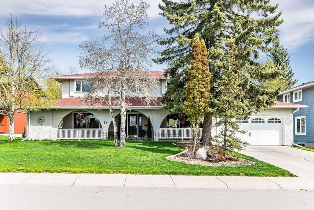 24 Canata Close SW, Calgary, AB T2W 1P7 (#C4244828) :: The Cliff Stevenson Group