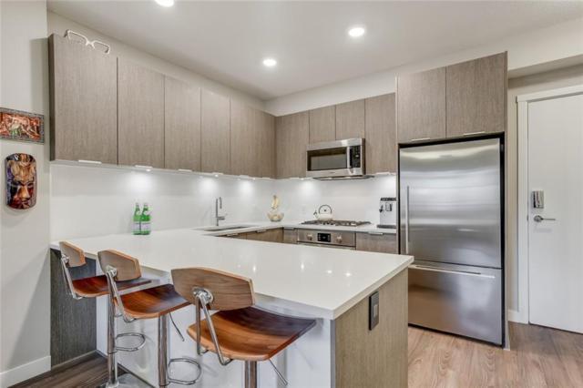823 5 Avenue NW #206, Calgary, AB T2N 0R5 (#C4244835) :: Redline Real Estate Group Inc