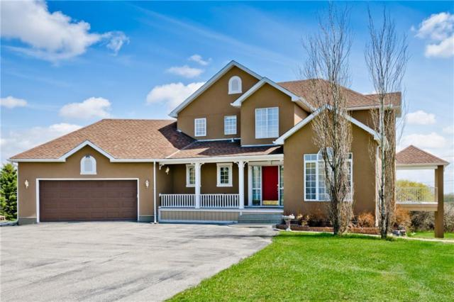 39 Lone Pine Crescent, Rural Rocky View County, AB T3R 1B9 (#C4244998) :: The Cliff Stevenson Group