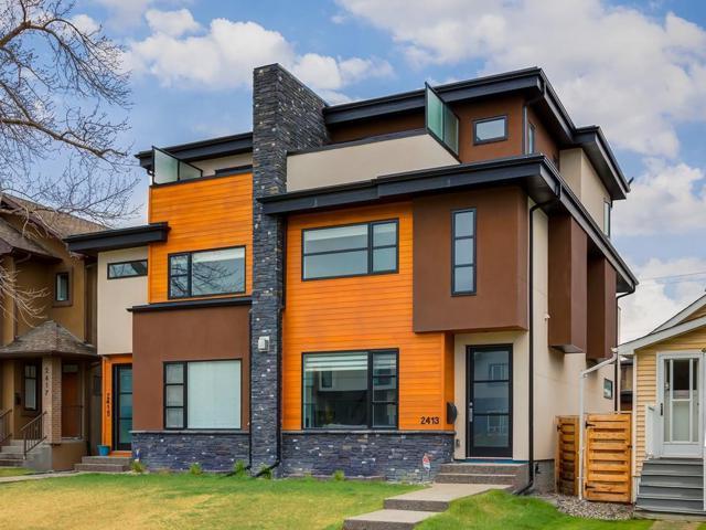 2413 24A Street SW, Calgary, AB T3E 1V9 (#C4245108) :: Canmore & Banff