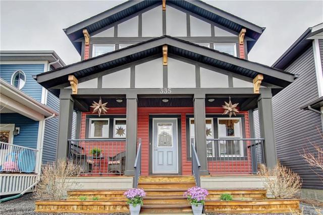 335 Fireside Place, Cochrane, AB T4C 0R5 (#C4245229) :: Redline Real Estate Group Inc