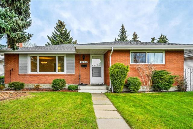 4208 Voyageur Drive NW, Calgary, AB T3A 0J4 (#C4245234) :: Redline Real Estate Group Inc