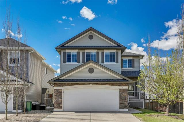 71 Crystal Shores Road, Okotoks, AB T1S 2H9 (#C4245736) :: Redline Real Estate Group Inc