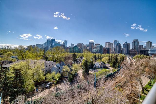 235 9A Street NW #604, Calgary, AB T2N 4H7 (#C4245881) :: Redline Real Estate Group Inc