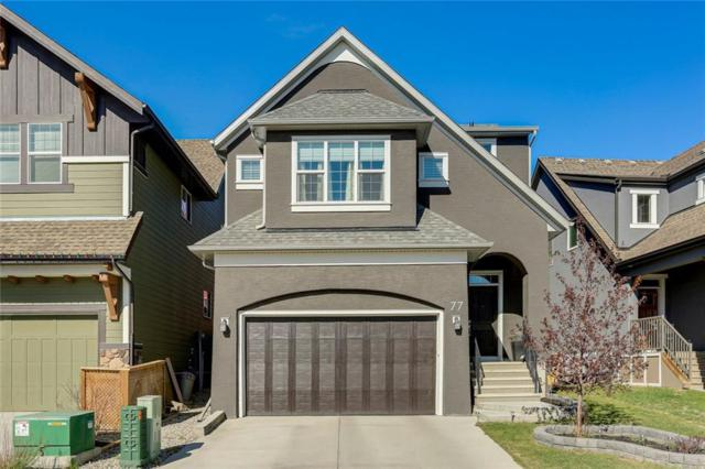 77 Masters Common SE, Calgary, AB T3M 2B6 (#C4245903) :: Canmore & Banff