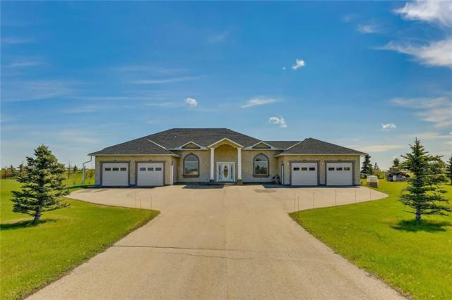 241063 Range Rd 270, Rural Wheatland County, AB T2P 2G7 (#C4247355) :: Redline Real Estate Group Inc