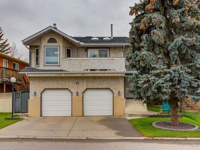 43 Sanderling Rise NW, Calgary, AB T3K 3B1 (#C4247390) :: Calgary Homefinders