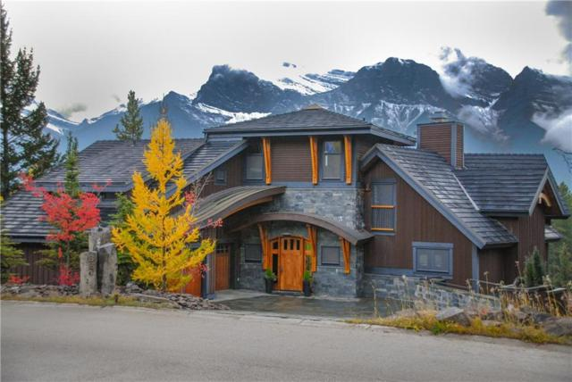 821 Silvertip Heights, Canmore, AB T1W 3K9 (#C4247431) :: Canmore & Banff