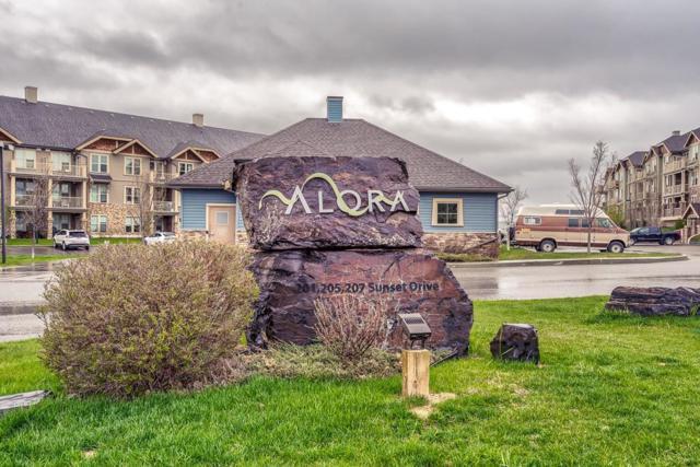 207 Sunset Drive #307, Cochrane, AB T4C 0H7 (#C4247432) :: Redline Real Estate Group Inc