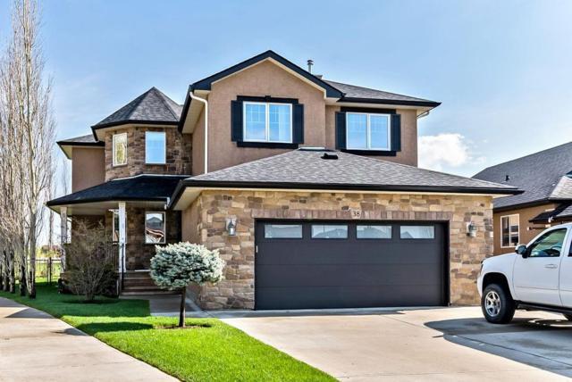 38 Billy Haynes Trail, Okotoks, AB T1S 2N9 (#C4247543) :: Redline Real Estate Group Inc