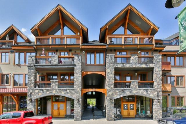 505 Spring Creek Drive #300, Canmore, AB T1W 0C5 (#C4248253) :: Calgary Homefinders