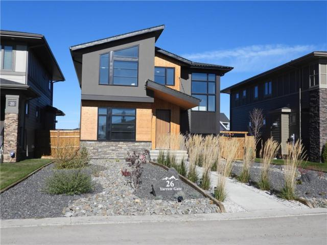 26 Yarrow Gate, Rural Rocky View County, AB T3Z 0C8 (#C4248415) :: Virtu Real Estate