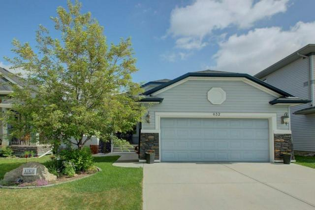 432 Cimarron Boulevard, Okotoks, AB T1S 0J5 (#C4248664) :: Redline Real Estate Group Inc
