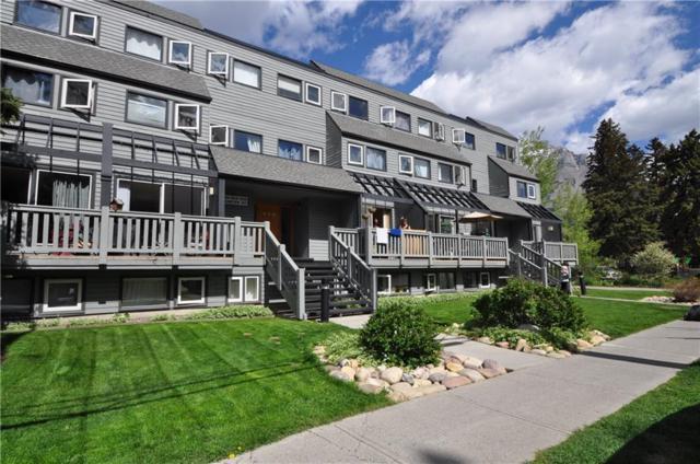 413 Marten Street L, Banff, AB T1L 1E3 (#C4249458) :: Canmore & Banff