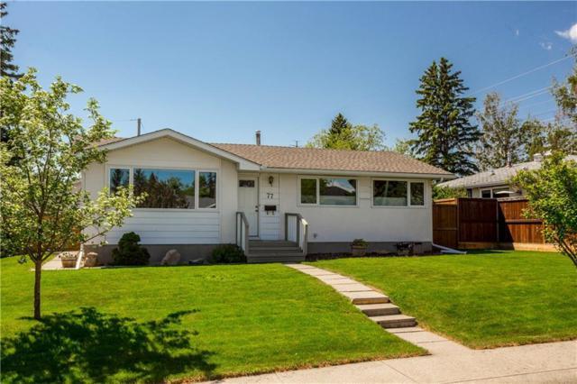 77 Wakefield Drive SW, Calgary, AB T3C 2W8 (#C4249579) :: Redline Real Estate Group Inc