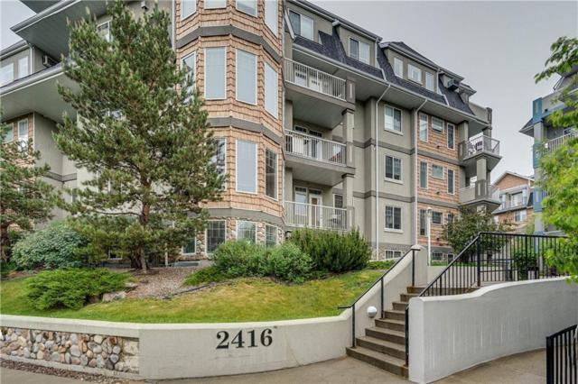2416 Erlton Street SW #405, Calgary, AB T2S 3B7 (#C4253128) :: Redline Real Estate Group Inc
