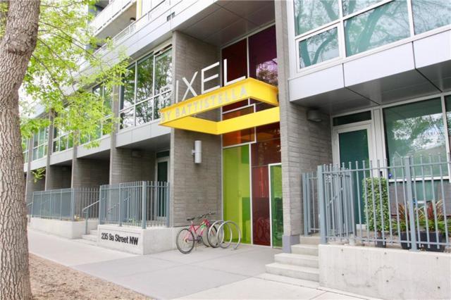 235 9A Street NW #114, Calgary, AB T2N 4H7 (#C4253380) :: The Cliff Stevenson Group