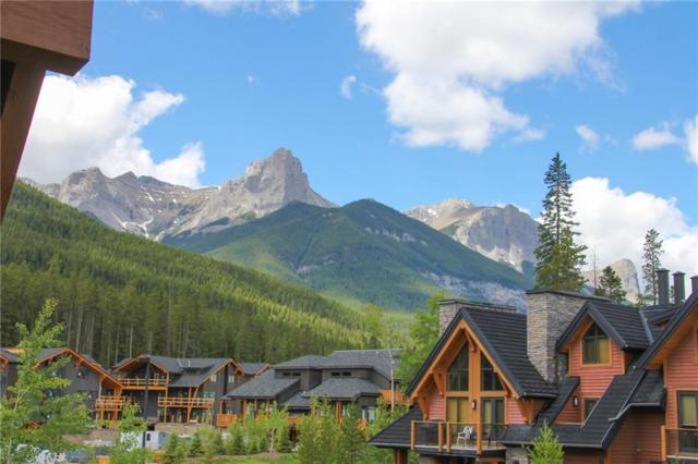 106 Stewart Creek Landing #319, Canmore, AB T1W 0G6 (#C4255595) :: Canmore & Banff