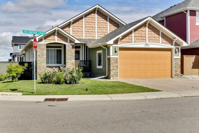 204 Bayside Landing SW, Airdrie, AB T4B 3E4 (#C4255631) :: Calgary Homefinders