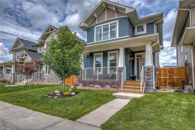 1842 Baywater Garden(S) SW, Airdrie, AB T4B 3M5 (#C4255896) :: The Cliff Stevenson Group