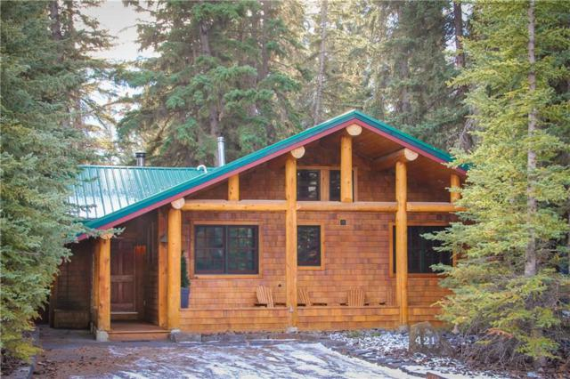 421 3rd Street, Canmore, AB T1W 2H7 (#C4256060) :: Redline Real Estate Group Inc
