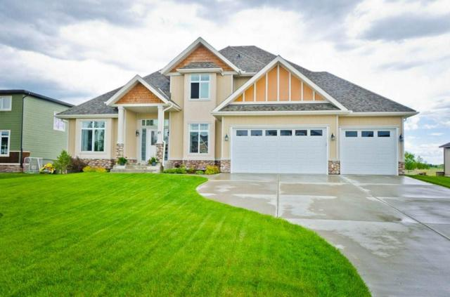 47 Monterra Link, Rural Rocky View County, AB T4C 9G7 (#C4256276) :: Redline Real Estate Group Inc