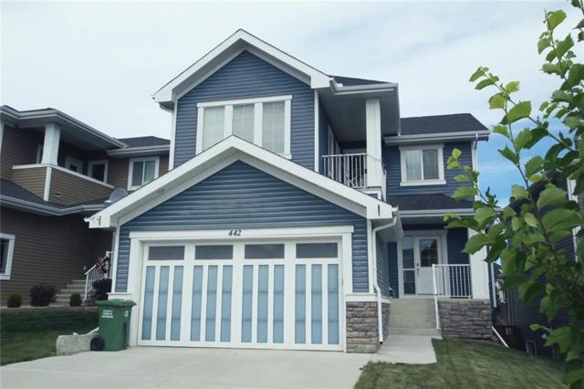 442 River Heights Drive, Cochrane, AB T4C 0H8 (#C4256367) :: Redline Real Estate Group Inc