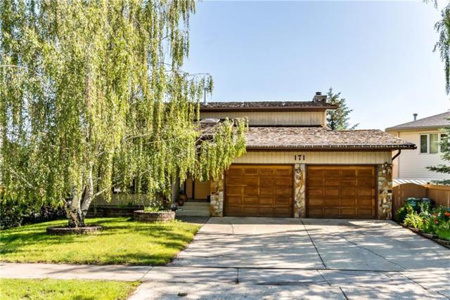 171 Woodhaven Drive, Okotoks, AB T1S 1L8 (#C4256575) :: Virtu Real Estate